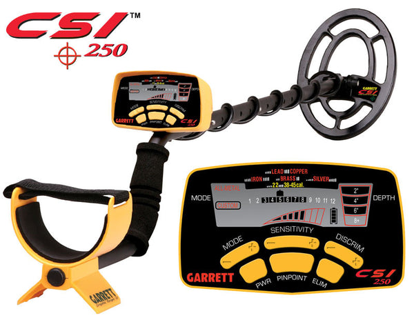 Garrett CSI 250 Ground Search Metal Detector - WarriorInc Tactical Gear