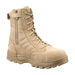 "Original SWAT Classic 9"" Side-Zip Safety Boot - WarriorInc Tactical Gear"
