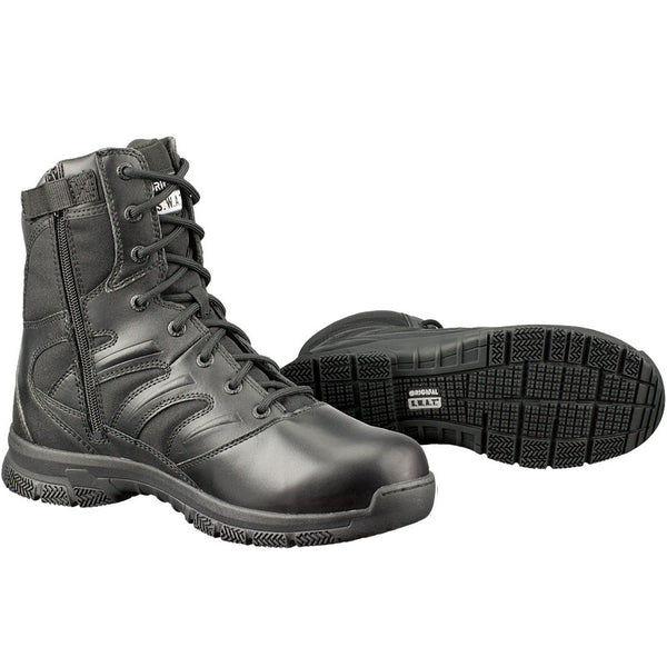 "Original SWAT Force 8"" Side-Zip Boot - WarriorInc Tactical Gear"