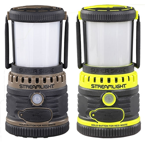 Streamlight Super Siege 120V AC Rechargeable Lantern with USB Charger - WarriorInc Tactical Gear