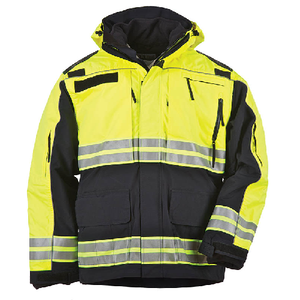 5.11 Tactical Responder High-Visibility Parka Dark Navy - WarriorInc Tactical Gear
