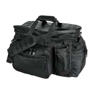 Uncle Mikes Black Side-Armor Patrol Equipment Bag - WarriorInc Tactical Gear