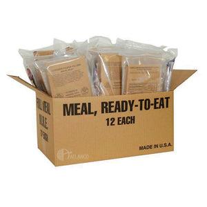 5ive Star Gear MRE Meal Ready to Eat Deluxe Field Ready Ration - WarriorInc Tactical Gear