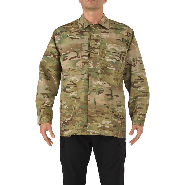 5.11 Tactical MultiCam Long Sleeve TDU Shirt - WarriorInc Tactical Gear