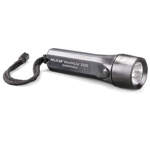 Pelican 2400 Waterproof StealthLite Flashlight - WarriorInc Tactical Gear