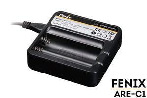 Fenix ARE-C1 Smart Battery Charger for 18650 Batteries - WarriorInc Tactical Gear