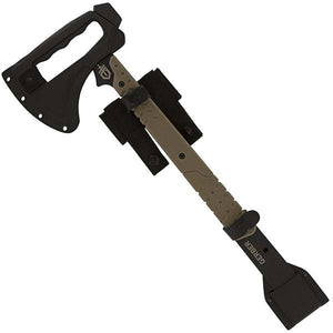 Gerber Tactical Downrange Tomahawk and Pry Bar Entry Tool - WarriorInc Tactical Gear