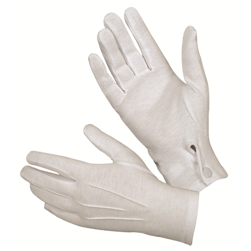 Hatch White Cotton Parade Glove - WarriorInc Tactical Gear
