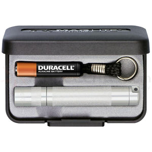 Maglite Solitaire AAA Keychain Light in Presentation Box - Silver - WarriorInc Tactical Gear