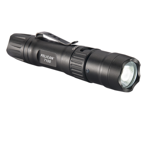 Pelican 7100 Tactical Rechargeable Flashlight 700 Lumens - WarriorInc Tactical Gear