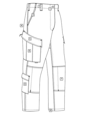 TruSpec Tactical Response Uniform Pants Coyote - WarriorInc Tactical Gear