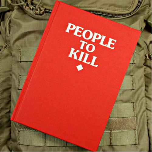 Violent Little Machine Shop People To Kill Notebook Red - WarriorInc Tactical Gear
