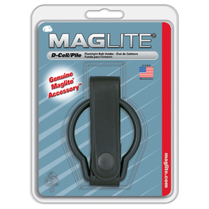 Maglite D Cell Belt Holder Plain Leather - WarriorInc Tactical Gear