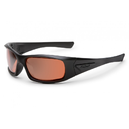 ESS 5B Sunglasses Black Frame Mirrored Copper Lenses - WarriorInc Tactical Gear