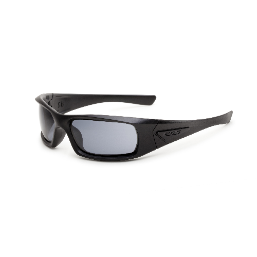 ESS 5B Sunglasses Black Frame Smoke Gray Lenses - WarriorInc Tactical Gear