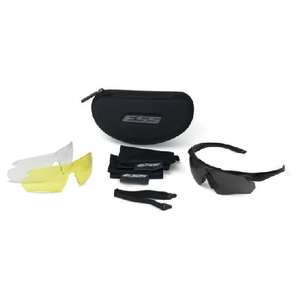 ESS Crosshair 3 Lens - Clear, Smoke Gray & Hi Def Yellow Lenses - WarriorInc Tactical Gear