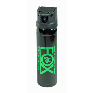 Fox Labs Mean Green Defense Spray with Green Dye and Pepper Spray Flip Top Cannister - WarriorInc Tactical Gear