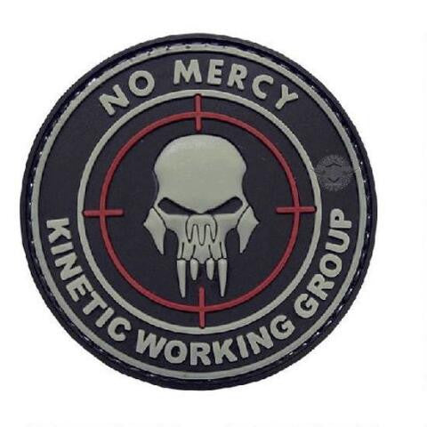 5ive Star Gear PVC Morale Patch No Mercy - WarriorInc Tactical Gear