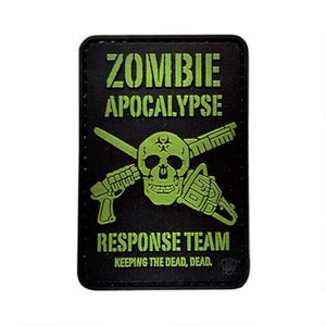 5ive Star Gear PVC Morale Patch Zombie Outbreak - WarriorInc Tactical Gear