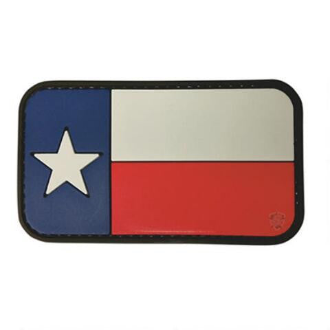 5ive Star Gear PVC Morale Patch Texas Flag - WarriorInc Tactical Gear