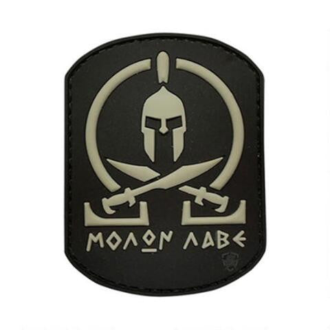 Copy of 5ive Star Gear PVC Morale Patch MOLON - WarriorInc Tactical Gear