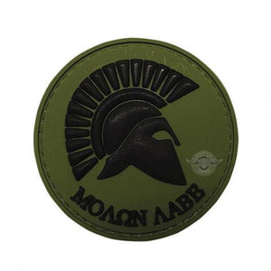 5ive Star Gear PVC Morale Patch MOLON LABE - WarriorInc Tactical Gear