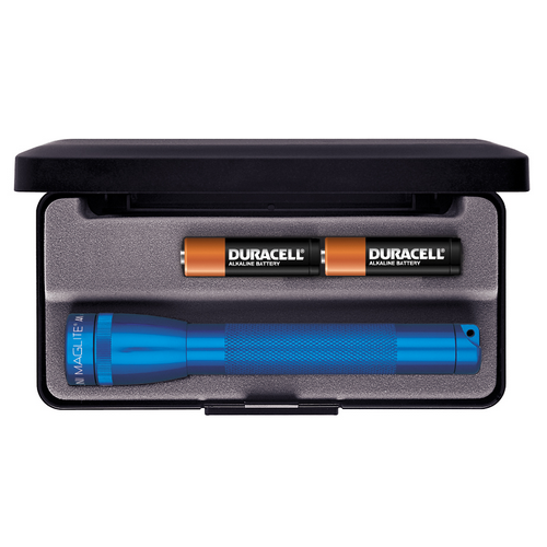 Maglite AA in Presentation Box - Blue - WarriorInc Tactical Gear