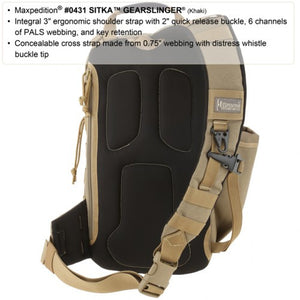 Maxpedition Sitka Gearslinger - WarriorInc Tactical Gear