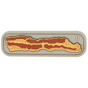 Maxpedition Morale Patch Bacon 3  x 1  (Arid) - WarriorInc Tactical Gear