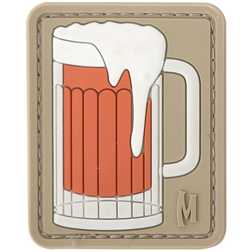 Maxpedition Morale Patch Beer Mug (Arid) - WarriorInc Tactical Gear