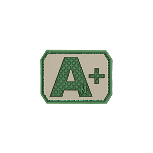Maxpedition Morale Patch A+ POS Blood Type Patch - WarriorInc Tactical Gear