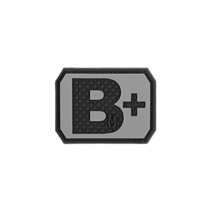 Maxpedition Morale Patch B+ POS Blood Type Patch - WarriorInc Tactical Gear