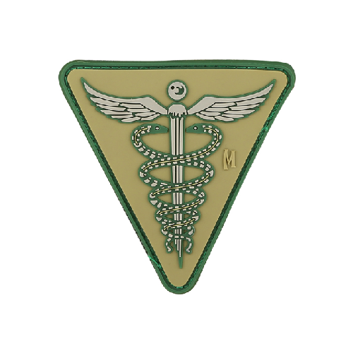 Maxpedition Morale Patch Caduceus Patch - WarriorInc Tactical Gear