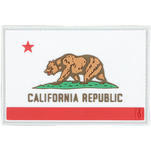 Maxpedition Morale Patch California Flag Patch - WarriorInc Tactical Gear