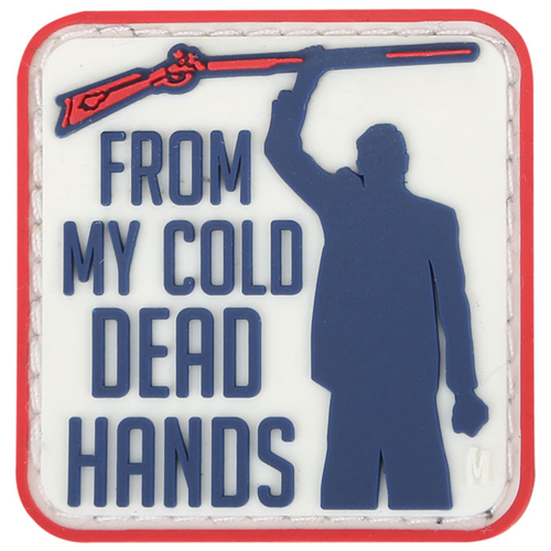Maxpedition Morale Patch Cold Dead Hands 1.5  x 1.5  (Full Color) - WarriorInc Tactical Gear