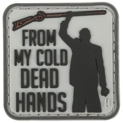 Maxpedition Morale Patch Cold Dead Hands 1.5  x 1.5  (Swat) - WarriorInc Tactical Gear