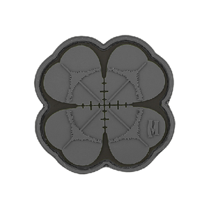 Maxpedition Morale Patch Lucky Shot Clover Patch - WarriorInc Tactical Gear