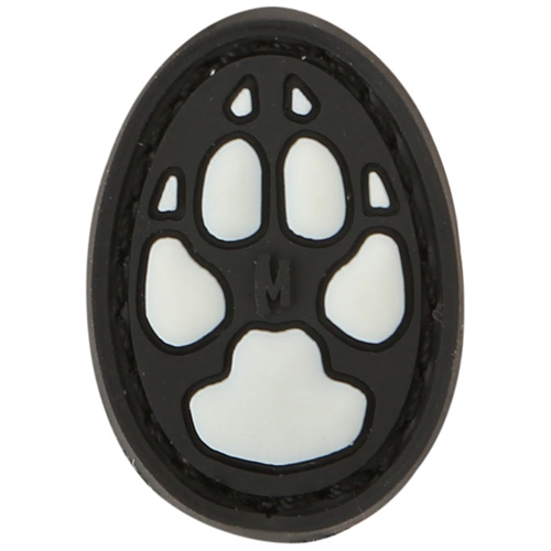 Maxpedition Morale Patch Dog Track 1  (Glow) - WarriorInc Tactical Gear