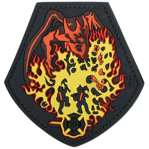 Maxpedition Morale Patch Fire Dragon (Color) - WarriorInc Tactical Gear