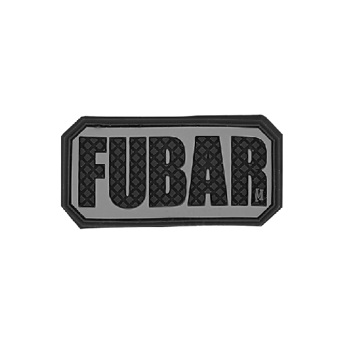 Maxpedition FUBAR PVC Morale Patch - WarriorInc Tactical Gear