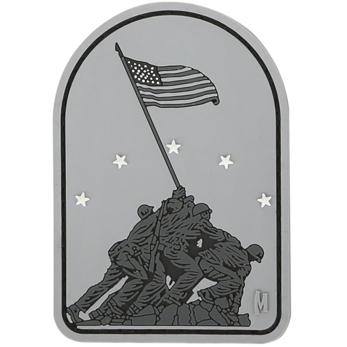 Maxpedition Morale Patch Iwo Jima 2.1  x 3.0  (SWAT) - WarriorInc Tactical Gear