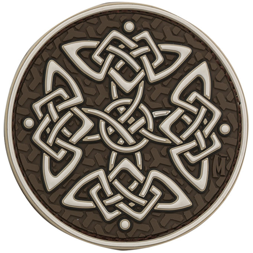 Maxpedition Morale Patch Celtic Cross (Arid) - WarriorInc Tactical Gear
