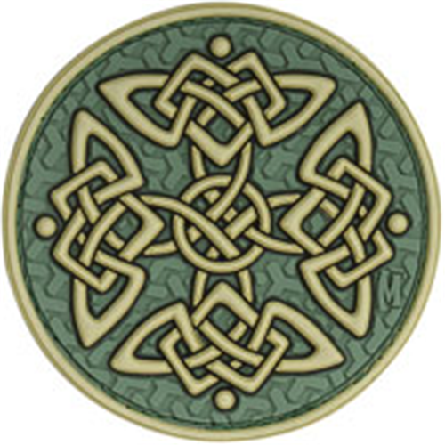 Maxpedition Morale Patch Celtic Cross (Color) - WarriorInc Tactical Gear