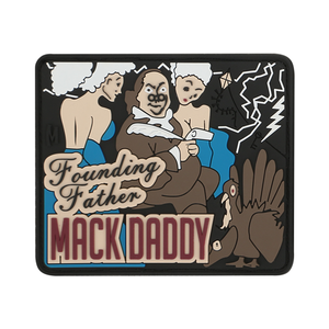 Maxpedition Morale Patch BEN FRANKLIN MACK (Full Color) - WarriorInc Tactical Gear