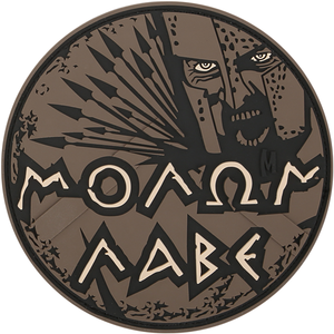 Maxpedition Morale Patch MOLON LABE (Arid) - WarriorInc Tactical Gear