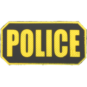 Maxpedition Morale Patch POLICE Identification Patch - WarriorInc Tactical Gear