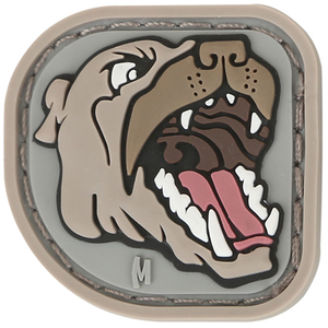 Maxpedition Morale Patch Pit Bull 1.2  x 1.2  (Arid) - WarriorInc Tactical Gear