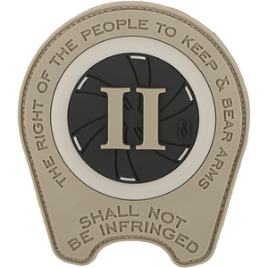 Maxpedition Morale Patch Right To Bear Arms Patch - WarriorInc Tactical Gear