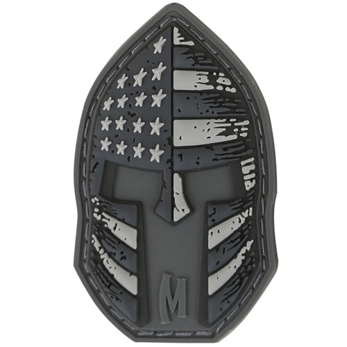 Maxpedition Morale Patch Stars and Stripes Spartan 2  x 1.2  (SWAT) - WarriorInc Tactical Gear