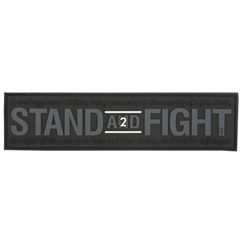 Maxpedition Morale Patch Stand and Fight 2nd Amendment Patch - WarriorInc Tactical Gear